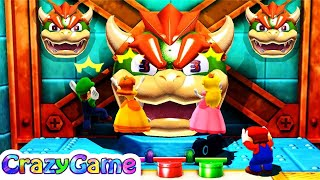 Mario Party The Top 100 - Top 20 Best Free for All Minigames Gameplay