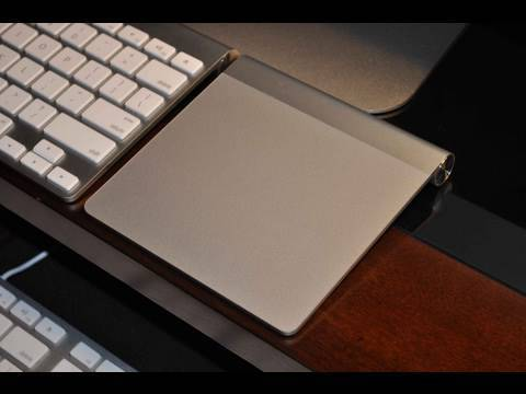 Apple Magic Trackpad: Unboxing & Demo