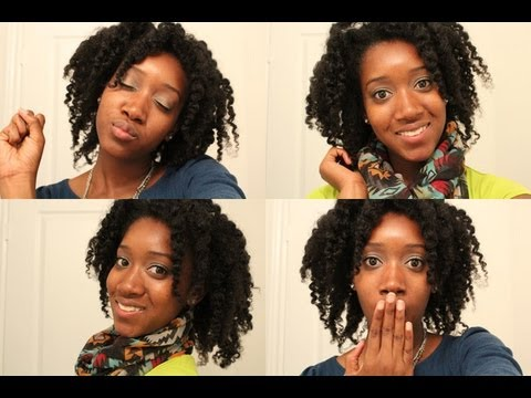 Natural Hair Back to School Hairstyles - Part 1!