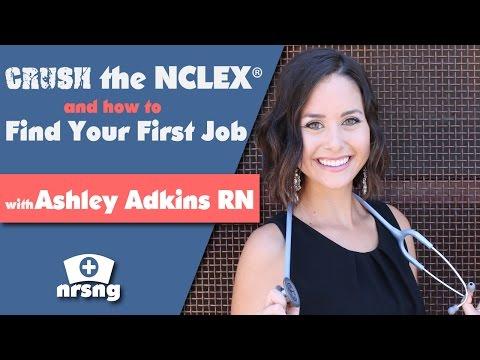 Crush the NCLEX and Find Your First Nursing Job w/ Ashley Adkins RN BSN