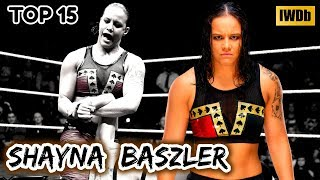 """Top 15 Moves of Shayna Baszler """"The Queen of Spades"""""""