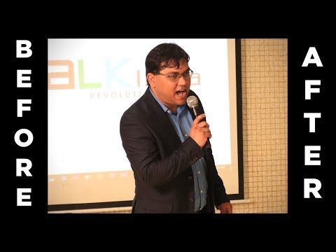 Before and After Speech at India's Best Public Speaking Championship