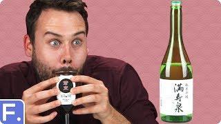 Irish People Taste Test Japanese Alcohol