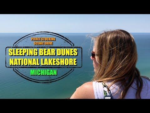 RV Travel: Sleeping Bear Dunes National Lakeshore - Pierce Stocking Scenic Drive - Michigan