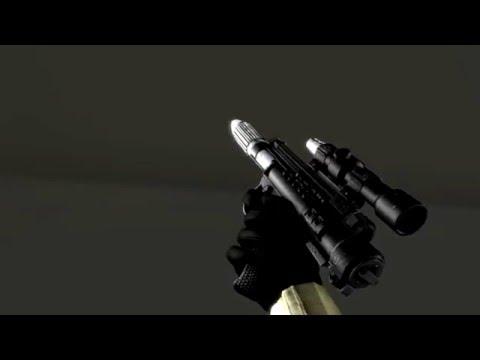 [SFM] DH-17 blaster animation (Star Wars)