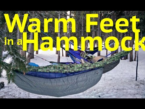 Warm Feet in a Hammock GUARANTEED
