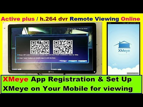 XMeye App Registration & Set Up XMEYE on Your Mobile for Remote Viewing  (Tutorial) Step by Step