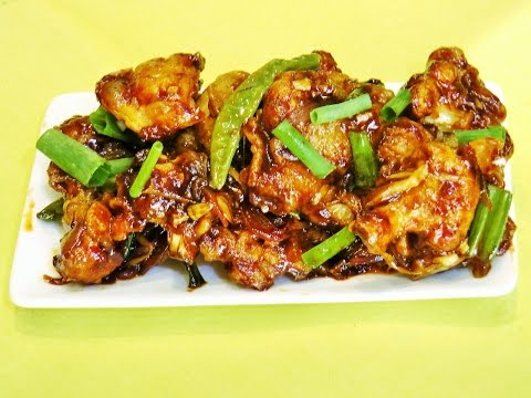 गोबी मंचुरियन | Gobi Manchurian Recipe | Indo Chinese Recipe | madhurasrecipe