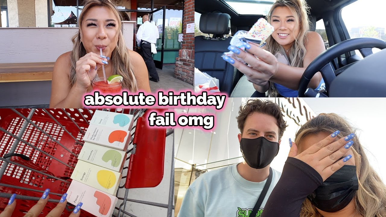 i ruined his birthday + target haul!!