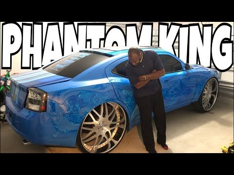 FULLY CUSTOMIZED DODGE CHARGER PHANTOM KING OFFICIALLY FOR SALE