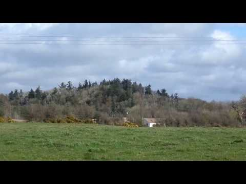 Bailliehill Mount Iron Age Hill Fort, Kilmaurs, Ayrshire, Scotland