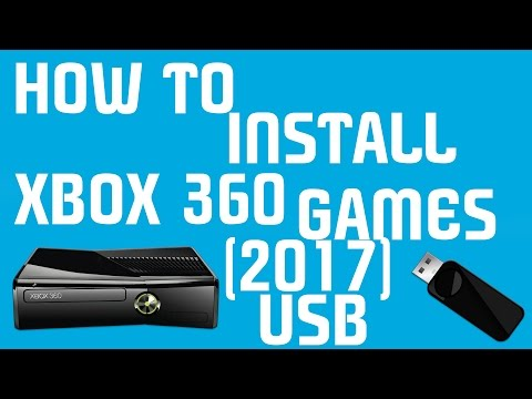 How To Install Xbox 360 Games On USB (2017)