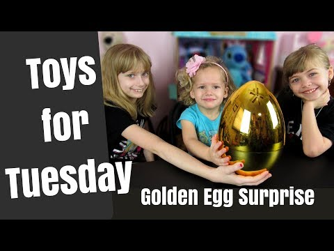 Princess Open Golden Egg: Opening Boy Stuff: Toys That Boys Play With