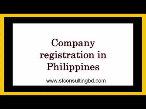 Company registration in Philippines