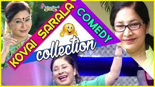 Latest Tamil Movie Comedy Scenes 2017 | Kovai Sarala Comedy Collection | Ajith | Soori | Santhanam