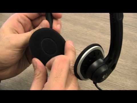 Logitech USB H330 Headset VOIP Chat Headset