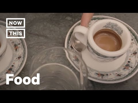 How to Order Espresso Like An Italian | Cuisine Code | NowThis