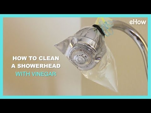 How to Clean a Grimy Shower Head with Vinegar | DIY IRL