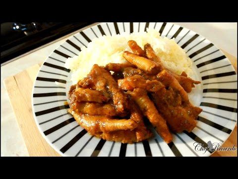 Jamaica Curry Chicken Foot Are Caribbean Curry Chicken Feet Best One | Recipes By Chef Ricardo