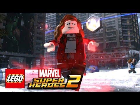 LEGO Marvel Super Heroes 2 - How To Make Scarlet Witch (Elizabeth Olsen)