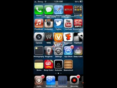 How To Change A 3G Icon To A 4G Icon On A Jailbroken iPhone
