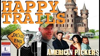 American Gothic, Huge Trucking Museum, Castle & American Pickers!