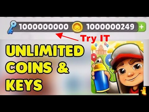 How to get unlimited keys and coins in subway surfers 2017 new trick