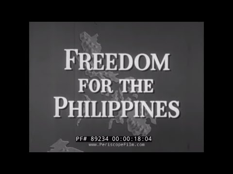 FREEDOM FOR THE PHILIPPINES   JAPANESE INVASION IN WWII THRU INDEPENDENCE   DOUGLAS MACARTHUR 89234