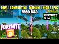 Download   Gtx 1650 Super | Fortnite Chapter 2 / Season 1 - 1440p All Settings MP3,3GP,MP4