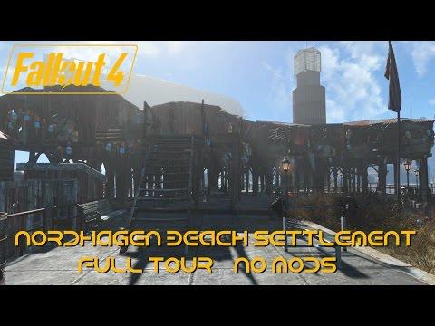 Fallout 4 Nordhagen Beach | Fishing Village No Mods