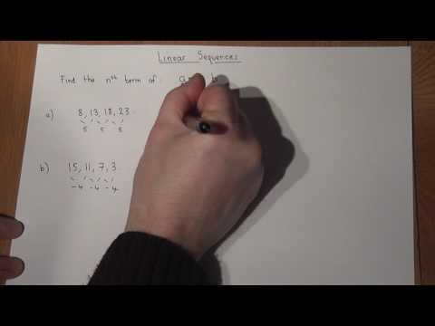 GCSE maths: nth term: Concise Linear Sequence Review