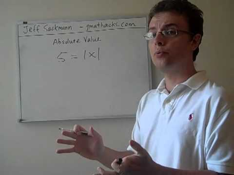 GMAT Absolute Value