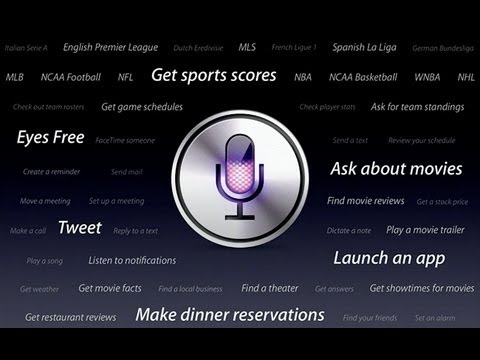 How to get Siri on IOS 6 - for iPod touch, iPhone 4.... [HD]