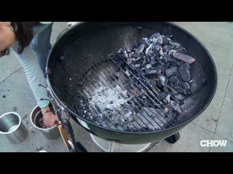 How to Turn Your Charcoal Grill into a Smoker - CHOW Tip