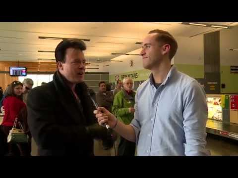 Canada Games TV Today - Airport Arrivals in PG