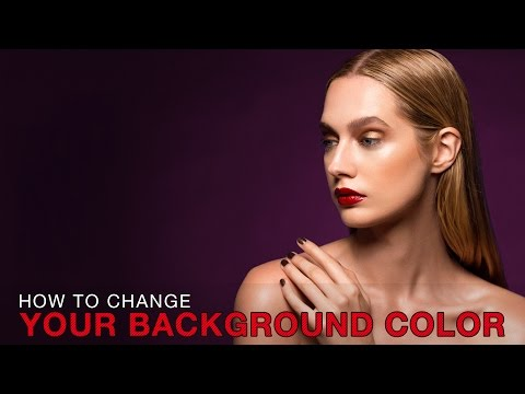 Photoshop - How to Change Your Background Color