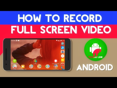 How To Record, FuLL screen recording video || using Android device|| hindi