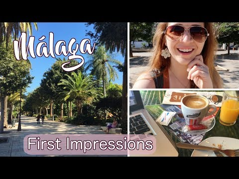 MÁLAGA VLOG: First Impressions, Practicing Spanish, and Café con Leche