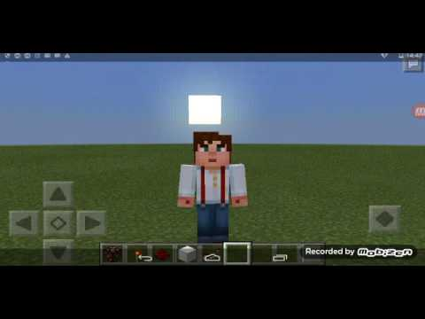 Minecraft PE | How To Make A Blinking Redstone Lamp