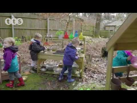 Outdoor Messy Play Wooden Mud Kitchen from TTS Group