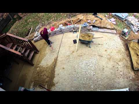 Continental Landscaping Patio Build
