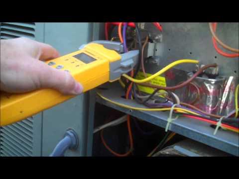 Check Motor Amps - Air Conditioning Repairs near Apex North Carolina