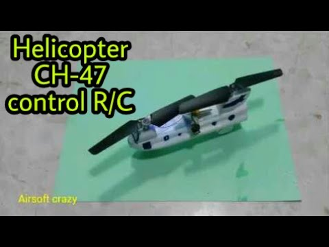 how to make helicopter CH-47 can control R / C Simple [newcd]