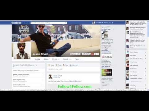 How To Get Facebook Followers -- Enable the Follow Button
