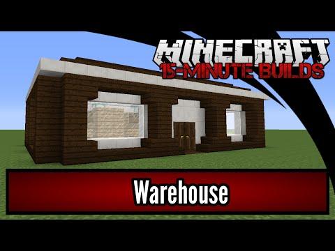 Minecraft 15-Minute Builds: Warehouse