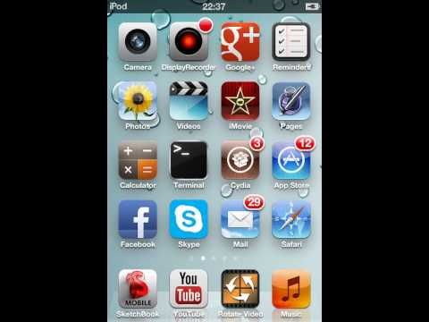 CYDELETE delete Cydia apps from your homescreen (jailbreak)
