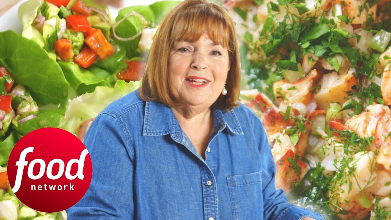 Ina Cooks A Seafood Feast Filled With Scallops And Lobsters | Barefoot Contessa: Back To Basics