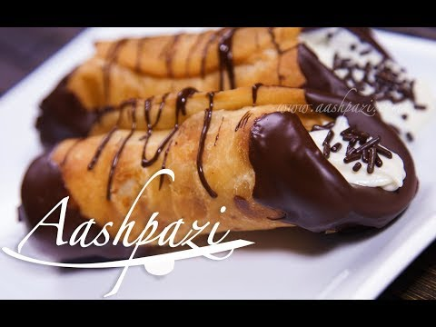 Cannoli Pastry Recipe 4K