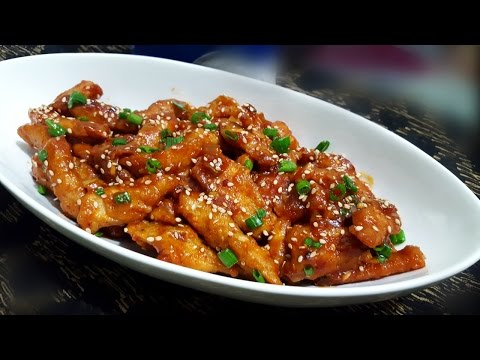 Crispy Honey Chilli Chicken by YES I CAN COOK