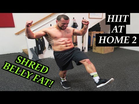 Intense 5 Minute Belly Fat Burning Cardio Abs Workout #2 | HIIT At Home!